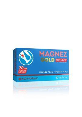 Magnez Gold Skurcz 50 tabletek alg pharma