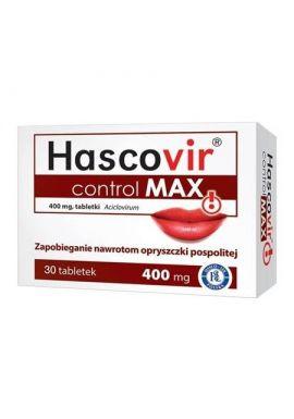 Hascovir control Max, 30 tabletek
