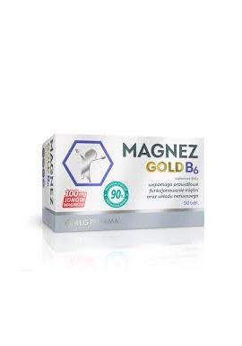 Magnez Gold B6 50 tabletek alg pharma