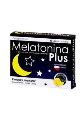 Melatonina Plus 30 tabletek do ssania