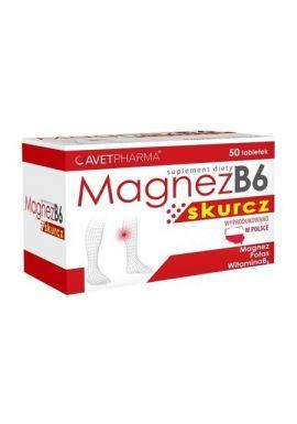 Magnez B6 Skurcz 50 tabletek avet pharma