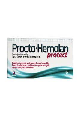 Procto-Hemolan Protect, 10 czopków