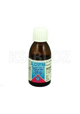 Gliceryna, plyn do stosowania na skore, 30 g