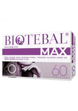 Biotebal Max tabl. 0,01 g 60 tabl.
