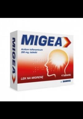 Migea 200mg 4 tabletki