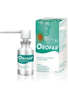 Orofar, aerozol do stosowania w jamie ustnej, 30ml