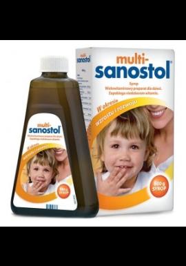Multi-Sanostol płyn dla dzieci powyżej 1 roku życia 600g