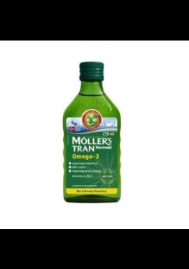 Moller`s Tran Norweski  naturalny, płyn, 250 ml