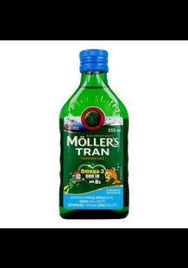 Moller`s Tran Norweski,  aromat owocowy, 250 ml