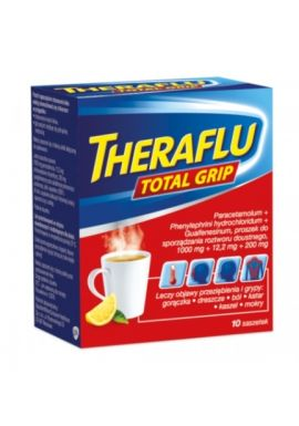 Theraflu Total Grip (Theraflu Max), 10 saszetek