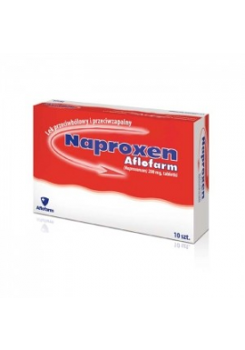 Naproxen 200mg 10 tabletek