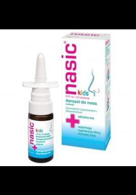 Nasic Kids aerozol do nosa dla dzieci od 2 do 6 lat 10ml