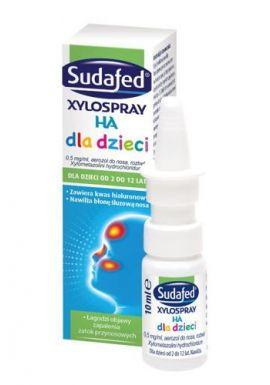 Sudafed XyloSpray HA KIDS aerozol do nosa 10 ml