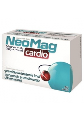 NeoMag Cardio 50 tabletek