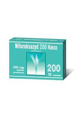 Nifuroksazyd 200mg 12 tabletek