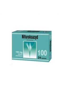 Nifuroksazyd 100mg 24 tabletek