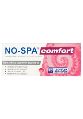 No-Spa Comfort 40mg 20 tabletek
