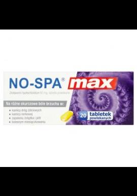 No-Spa MAX 20 tabletek