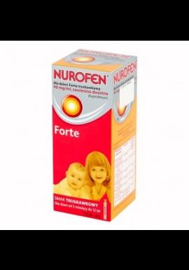 Nurofen dla dzieci Forte truskawkowy, 100 ml