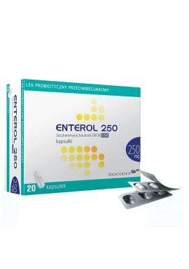 Enterol 250mg, 20 kapsulek
