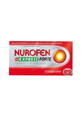 Nurofen Express Forte 400mg 10 kapsułek
