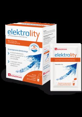 Elektrolity, 10 saszetek