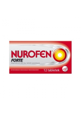 Nurofen Forte 400mg  12 tabletek