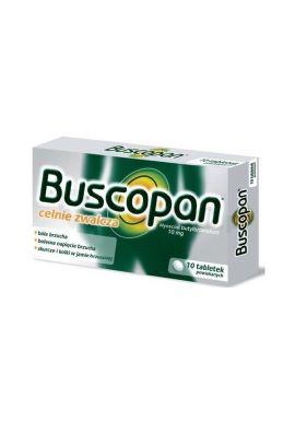 Buscopan 10mg, 10 tabletek