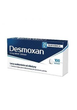 Desmoxan 1,5 mg, 100 tabletek