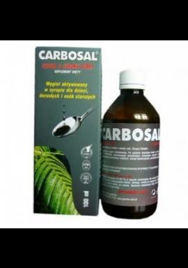 Węgiel syrop, 120 ml  – (carbosal)