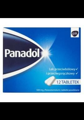 Panadol 500mg 12 tabletek