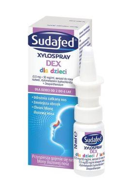 Sudafed Xylospray DEX, dla dzieci, 10 ml