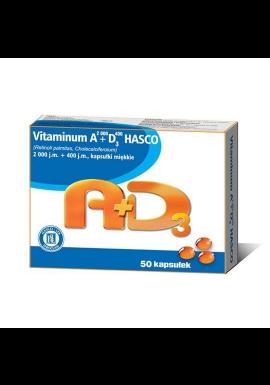 Vitaminum A 2000+D3  400 50 kapsułek