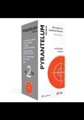 Pyrantelum zawiesina 250mg/5ml 15ml