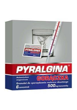 Pyralgina Goraczka 500 mg, 6 saszetek