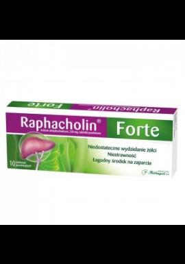 Raphacholin Forte 10 tabl