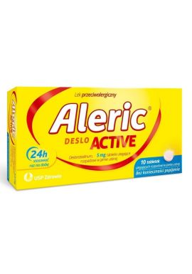 Aleric Deslo Active 5mg, 10 tabletek