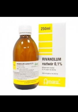 Rivanol 01% roztwór 100ml