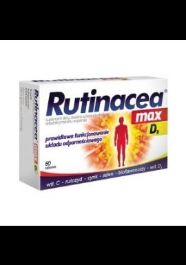 RUTINACEA Max D3 tabletki 60 tabl