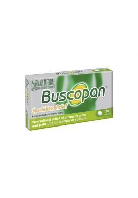 Buscopan 10mg, 20 tabletek