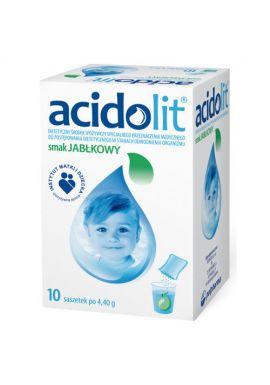 Acidolit, smak jablkowy, 10 saszetek