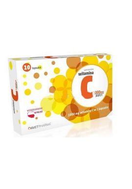 WITAMINA C 1000 mg 10 kapsulek AVET PHARMA