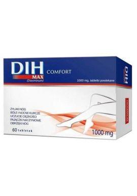 DIH Max Comfort 1000mg 60 tabletek