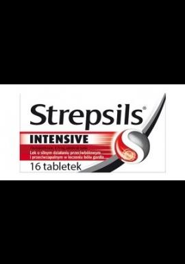 Strepsils Intensive 16 tabletek