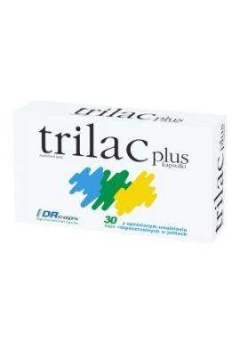 Trilac plus, 30 kapsulek o opoznionym uwalnianiu