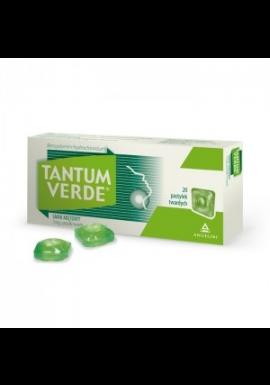 Tantum Verde smak miętowy 20 pastylek