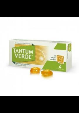 Tantum Verde smak miodowo-pomarańczowy 20 pastylek