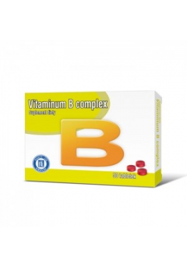 Vitamina B complex  50 tabletek