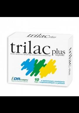 Trilac plus 10 kapsułek