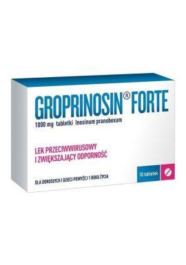 Groprinosin Forte, 1000mg, 10 tabletek